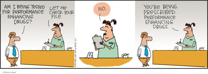 Cartoonist Mike Lester  Mike du Jour 2015-12-03 employment