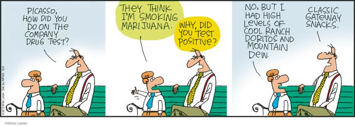Cartoonist Mike Lester  Mike du Jour 2015-12-05 marijuana