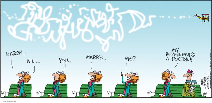 Cartoonist Mike Lester  Mike du Jour 2016-01-24 doctor