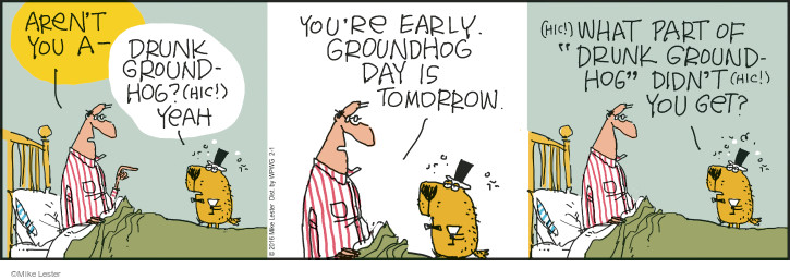 Cartoonist Mike Lester  Mike du Jour 2016-02-01 ground