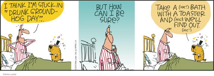 Cartoonist Mike Lester  Mike du Jour 2016-02-04 stuck
