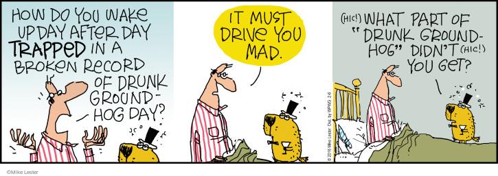 Cartoonist Mike Lester  Mike du Jour 2016-02-06 holiday