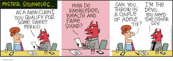 Comic Strip Mike Lester  Mike du Jour 2016-02-12 amenity