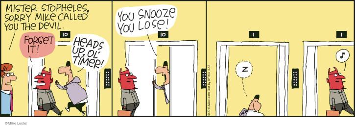 Comic Strip Mike Lester  Mike du Jour 2016-02-13 lose