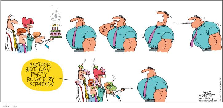 Comic Strip Mike Lester  Mike du Jour 2016-02-28 blow