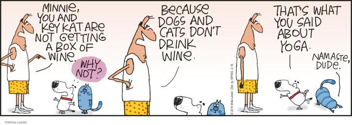 Cartoonist Mike Lester  Mike du Jour 2016-02-18 wine