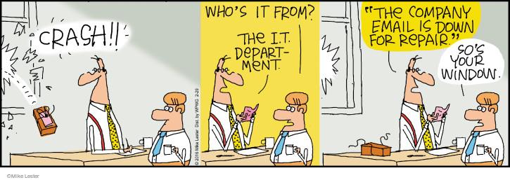 Comic Strip Mike Lester  Mike du Jour 2016-02-29 technology