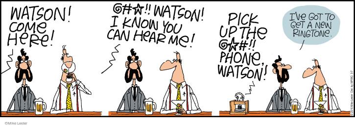 Cartoonist Mike Lester  Mike du Jour 2016-03-07 bell