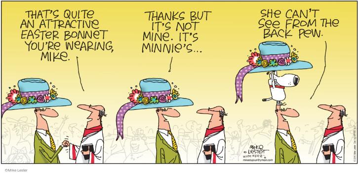 Comic Strip Mike Lester  Mike du Jour 2016-03-27 pew