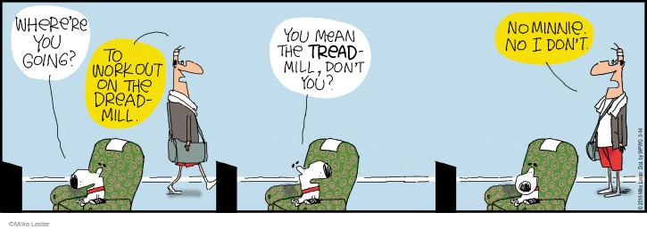Comic Strip Mike Lester  Mike du Jour 2016-03-14 equipment