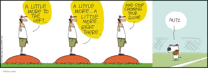 Comic Strip Mike Lester  Mike du Jour 2016-03-30 mound