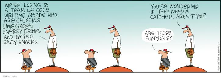 Cartoonist Mike Lester  Mike du Jour 2016-03-31 software