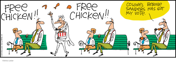 Comic Strip Mike Lester  Mike du Jour 2016-04-09 chicken