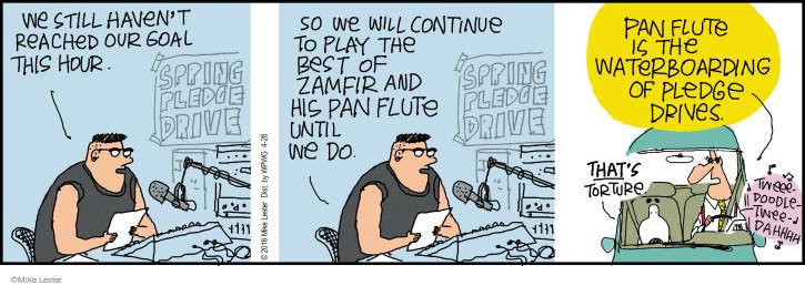 Comic Strip Mike Lester  Mike du Jour 2016-04-28 radio