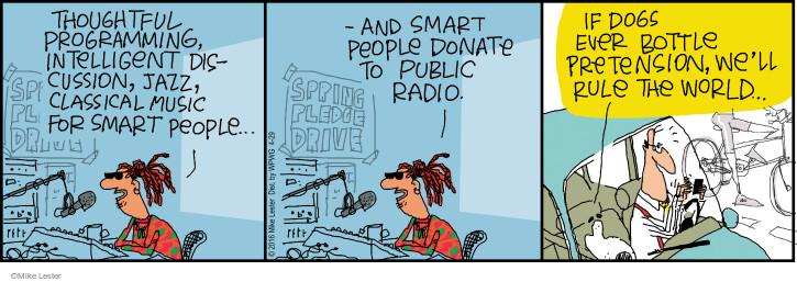 Cartoonist Mike Lester  Mike du Jour 2016-04-29 intelligence
