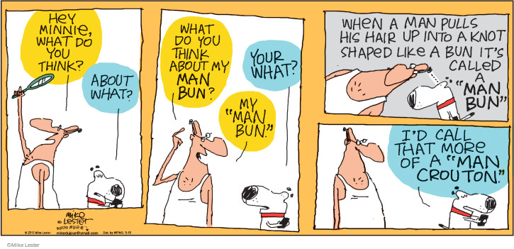 Cartoonist Mike Lester  Mike du Jour 2016-05-15 shape
