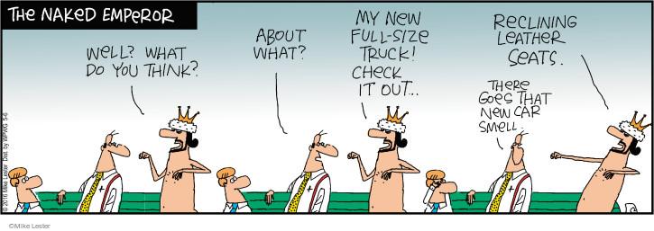 Cartoonist Mike Lester  Mike du Jour 2016-05-06 automobile