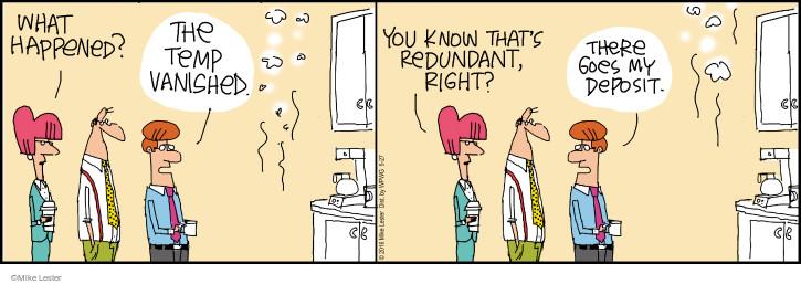 Cartoonist Mike Lester  Mike du Jour 2016-05-27 workplace