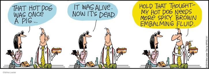 Cartoonist Mike Lester  Mike du Jour 2016-06-01 diet