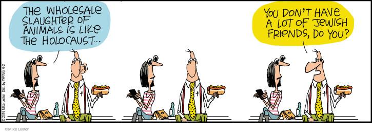 Comic Strip Mike Lester  Mike du Jour 2016-06-02 slaughter
