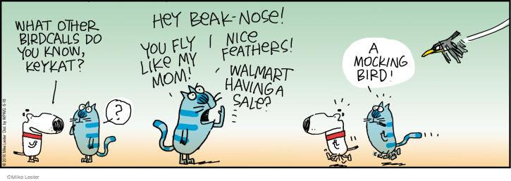 Comic Strip Mike Lester  Mike du Jour 2016-06-18 beak