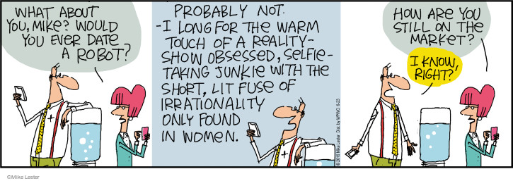 Comic Strip Mike Lester  Mike du Jour 2016-06-23 reality