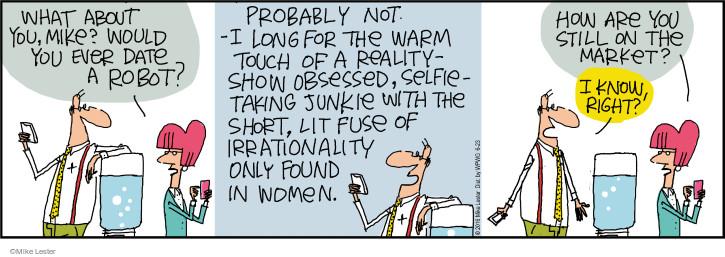 Cartoonist Mike Lester  Mike du Jour 2016-06-23 intelligence