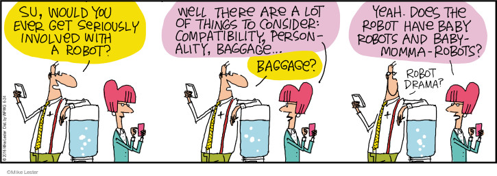Comic Strip Mike Lester  Mike du Jour 2016-06-24 technology