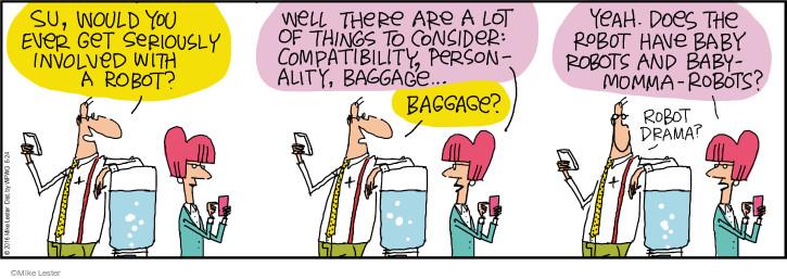 Cartoonist Mike Lester  Mike du Jour 2016-06-24 intelligence