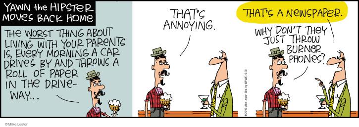 Cartoonist Mike Lester  Mike du Jour 2016-06-30 worst