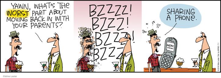 Cartoonist Mike Lester  Mike du Jour 2016-07-01 worst
