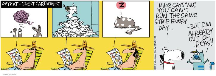 Cartoonist Mike Lester  Mike du Jour 2016-07-19 cartooning