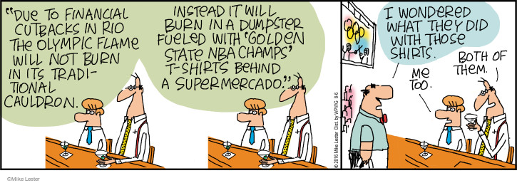 Comic Strip Mike Lester  Mike du Jour 2016-08-06 traditional