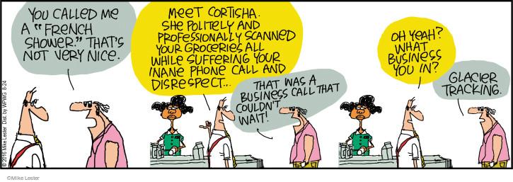 Cartoonist Mike Lester  Mike du Jour 2016-08-24 shopper