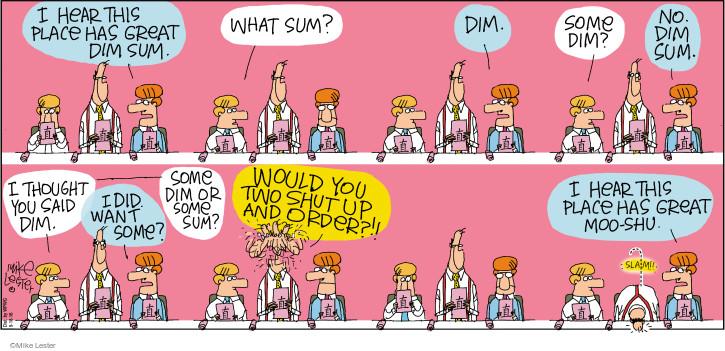 Comic Strip Mike Lester  Mike du Jour 2016-09-18 order