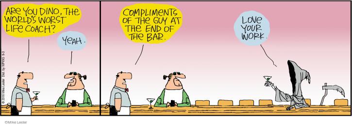 Comic Strip Mike Lester  Mike du Jour 2016-09-03 work life