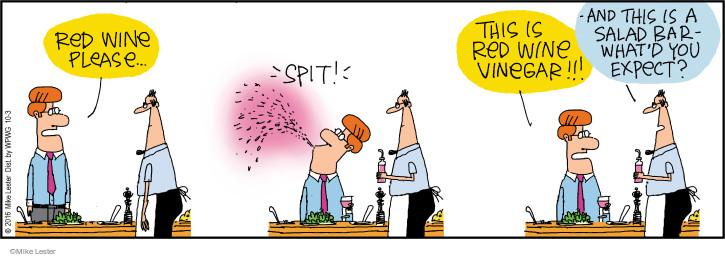 Cartoonist Mike Lester  Mike du Jour 2016-10-03 order