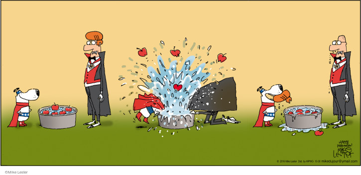 Comic Strip Mike Lester  Mike du Jour 2016-10-30 dog hair