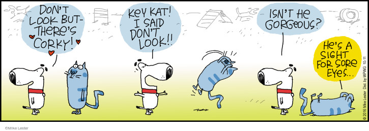 Cartoonist Mike Lester  Mike du Jour 2016-10-11 cover