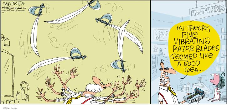 Cartoonist Mike Lester  Mike du Jour 2016-11-06 vibration