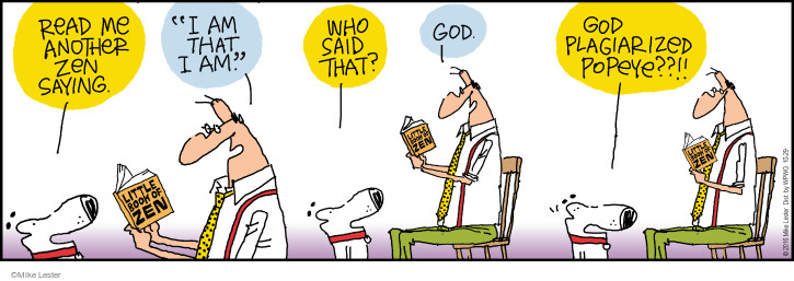 Comic Strip Mike Lester  Mike du Jour 2016-10-29 God