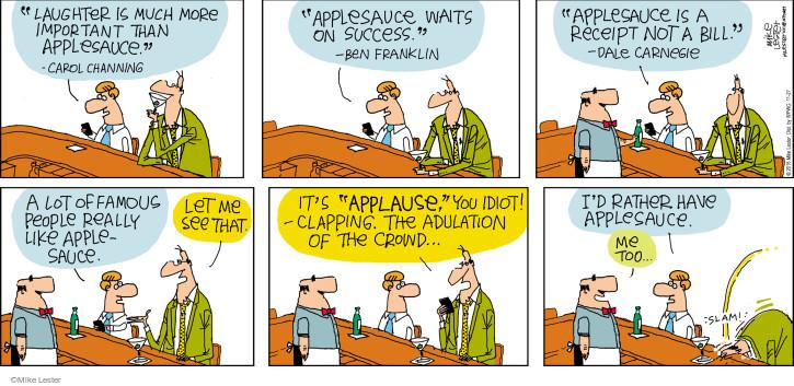 Cartoonist Mike Lester  Mike du Jour 2016-11-27 laugh