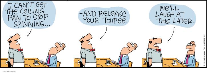 Cartoonist Mike Lester  Mike du Jour 2016-11-01 laugh