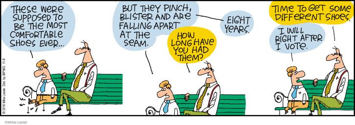 Comic Strip Mike Lester  Mike du Jour 2016-11-08 fall