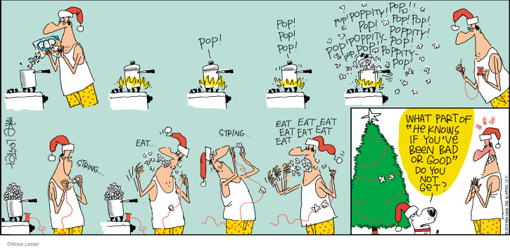 Comic Strip Mike Lester  Mike du Jour 2016-12-11 good or bad