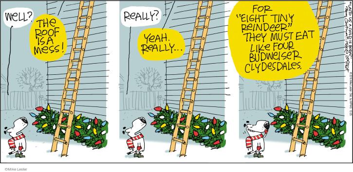 Cartoonist Mike Lester  Mike du Jour 2016-12-25 holiday