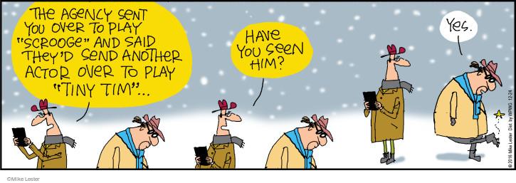 Cartoonist Mike Lester  Mike du Jour 2016-12-24 holiday