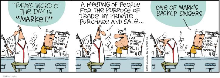 Cartoonist Mike Lester  Mike du Jour 2017-01-03 intelligence