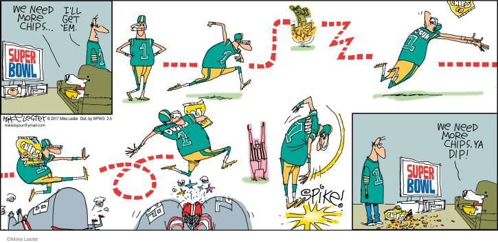 Comic Strip Mike Lester  Mike du Jour 2017-02-05 Super Bowl