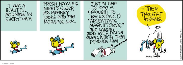 Comic Strip Mike Lester  Mike du Jour 2017-01-27 toy